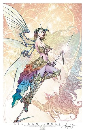 Aspen SDCC 2017 All New Soulfire Friday Print