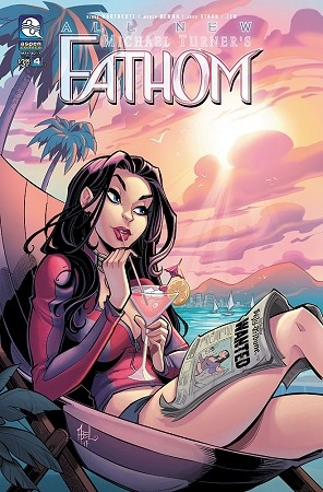 All New Fathom Vol 6 # 4 Cover B