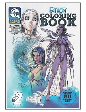 Michael Turner's Fathom Coloring Book # 2