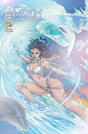 All New Fathom Vol 6 # 6 SDCC Foil Exclusive