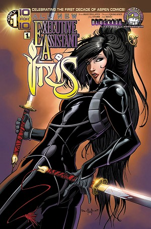 All New Executive Assistant Iris # 1 Cover A