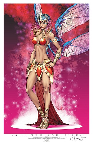 All New Soulfire # 1 Reserved 2013 Print