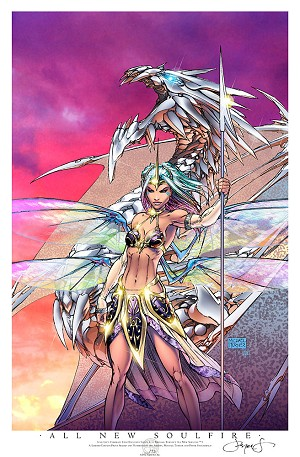 All New Soulfire # 1 Comikaze 2013 Print