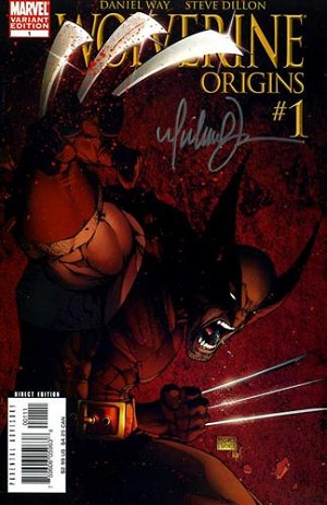 WOLVERINE: ORIGINS #1 TURNER VARIANT COVER SIGNED