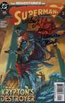 Adventures Of Superman #625 Signed