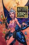 Aspen Seasons 2005: Spring Cover C Wizard World LA - Signed By Michael Turner