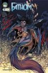 Fathom Vol 2 # 1 Cover A Turner - Signed by Michael Turner, Peter Steigerwald, and Koi Turnbull