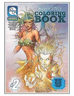 Michael Turner's Soulfire Coloring Book # 2