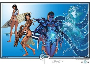 Aspen Comics Thanksgiving 2014 Fathom OP Print