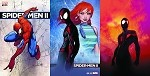 Spider-Men II # 1 Aspen Turner SDCC Variant Set of 3