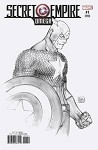Secret Empire Omega # 1 Michael Turner B&W Variant