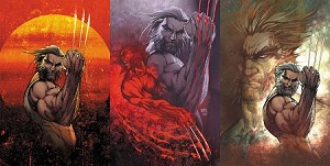 Weapon X #1 Old Man Logan Turner Variant SET of 3