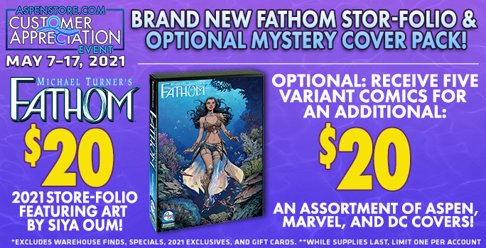 Aspen Comics Exclusives