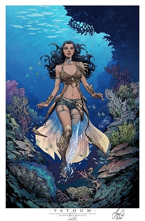 Aspen SDCC 2018 Fathom Thursday Print