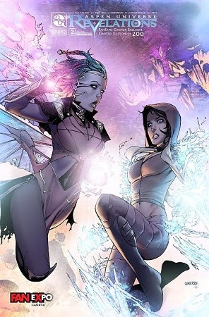 Aspen Universe : Revelations # 2 Fan Expo Foil Cover