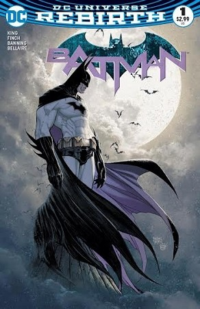 Batman # 1 Aspen Turner Variant VF