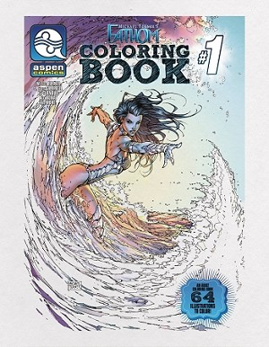 Michael Turner's Fathom Coloring Book # 1
