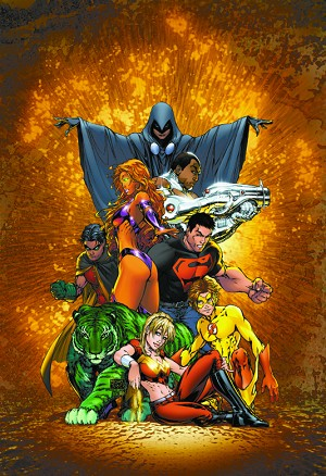 Teen Titans Turner Poster - Sold As Is
