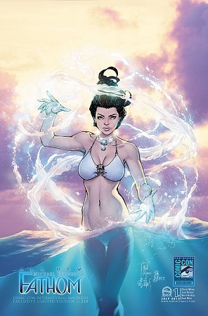 All New Fathom # 1 SDCC Konat Variant