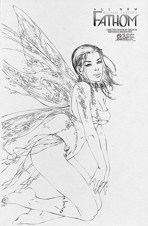 All New Fathom # 3 EBAS Sketch Cover C