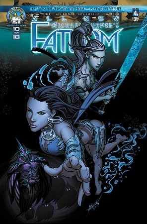 All New Fathom # 4 Cover B - VF