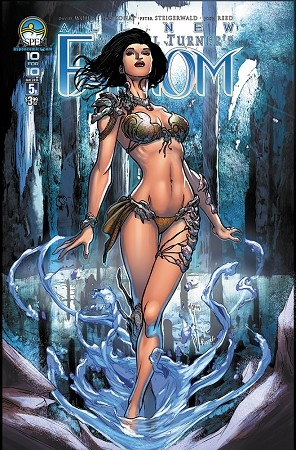 All New Fathom # 5 Cover B