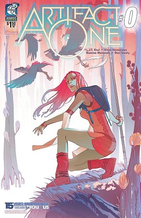 Artifact One # 0 Cover A