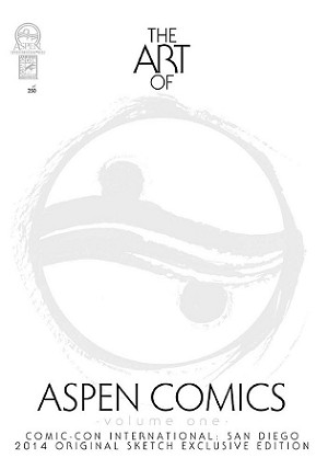 Art of Aspen: Volume 1 SDCC 2014 Sketch Cover