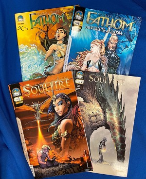 Aspen Comics Panini Collection – Italian & Brazilian