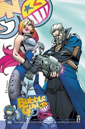 Bubblegun # 4 Cover D