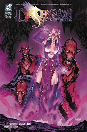 Dissension: War Eternal # 4 Cover A