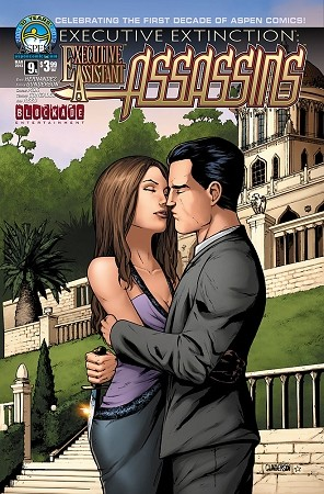 Executive Assistant Assassins # 9 Cover A