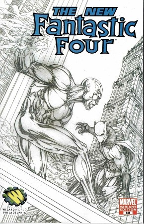 Fantastic Four Turner #546 Turner Sketch Variant