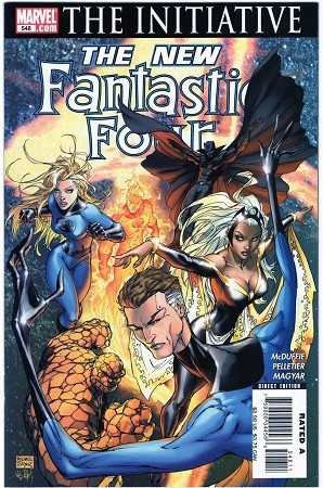 Fantastic Four #548 Turner