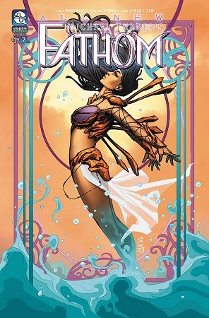 All New Fathom Vol 6 # 7 Cover B