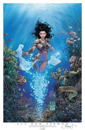 All New Fathom # 1 Cover D 2017 Limited Print