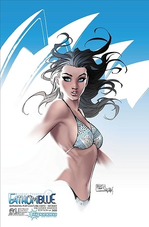 Fathom Blue # 1 Supanova Sydney 2015 Exclusive Cover