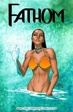 Fathom 1998 Preview Special WWTexas JayCo Gold Foil Variant