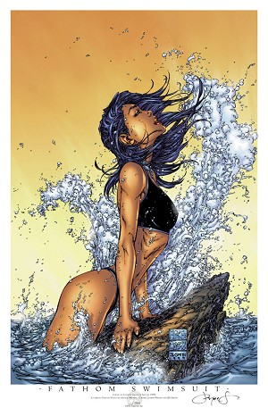 Fathom Swimsuit Special 2011 Limited Print