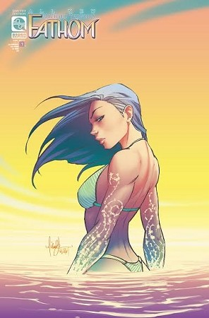 All New Fathom Vol 6 # 1 Cover E Turner