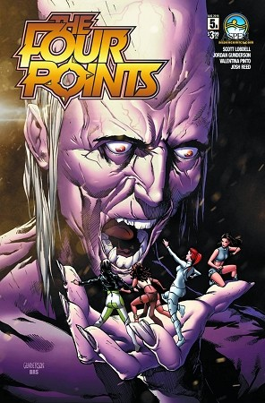 The Four Points # 5 Cover A