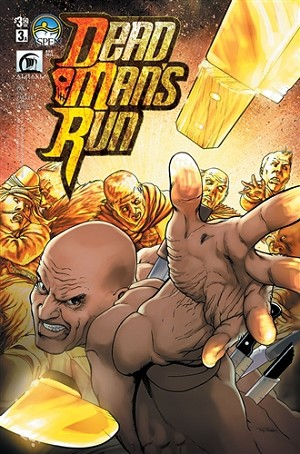 Dead Man's Run #3 Cover A Parker