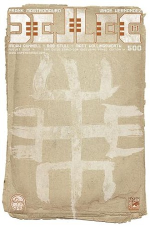 Dellec # 1 SDCC Exclusive Panel Limited 500
