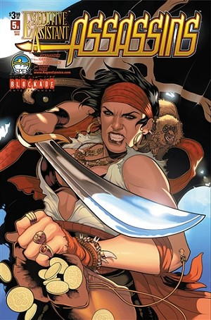 Executive Assistant Assassins # 5 Cover B