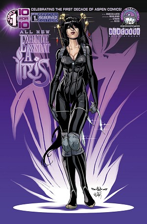 All New Executive Assistant Iris # 1 Cover B
