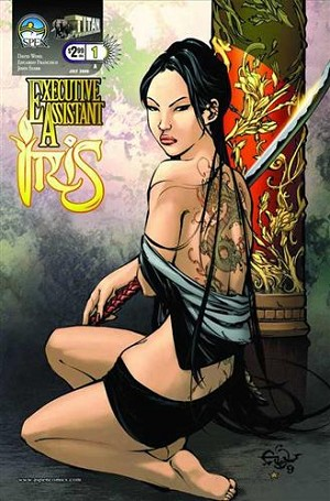 Executive Assistant Iris # 1 Cover A Francisco - Signed By David Wohl