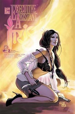 Executive Assistant Iris # 2 SDCC Excl. Limited 1000 - Signed By Billy Tan And Peter Steigerwald