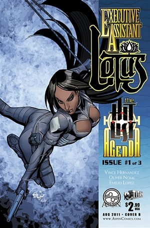 Executive Assistant Lotus # 1 Cover B Francisco