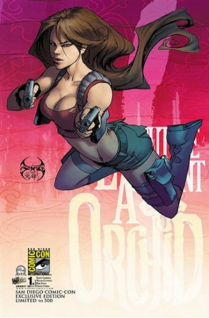 Executive Assistant Orchid # 1 Cover D SDCC Benitez Exclusive