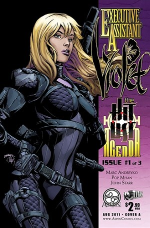 Executive Assistant Violet # 1 Cover A Mhan